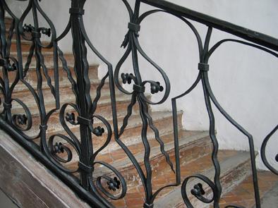 Escalier classé. 17e siècle.