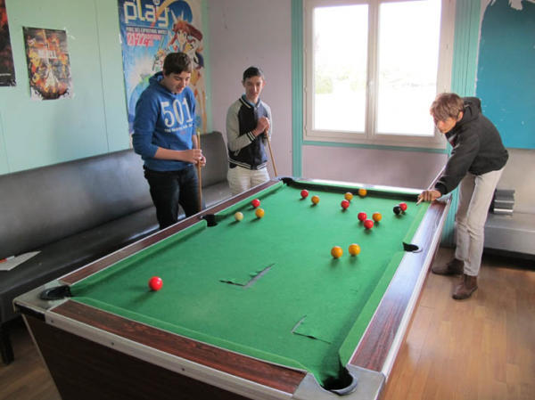 Billard au foyer